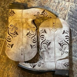 Roper boots. Cool design size 10